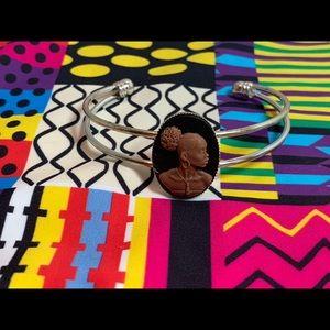 African American Cameo bracelet